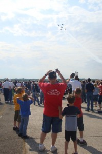 photo of jets at air show 2011